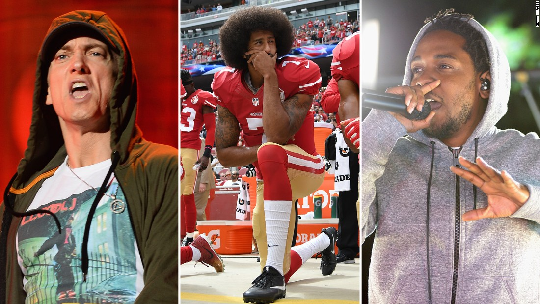 7 of hip hop s strongest lyrics on colin kaepernick
