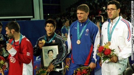 Kosei Inoue lost his mother aged just 21, famously clutching a framed photograph of her as he stood atop the podium at Sydney 2000 a year later.
