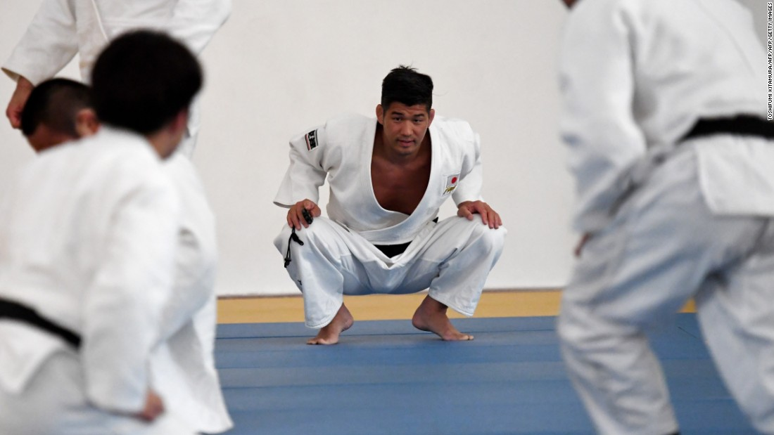 """We look at judo not only as a sport but as a 'budo,' or martial way,"" Inoue tells CNN. ""There is the competition -- we come to a World Championships and aim to win a gold medal -- but there is something far bigger behind this."""