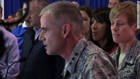 Air Force academy head to racists: 'Get out'