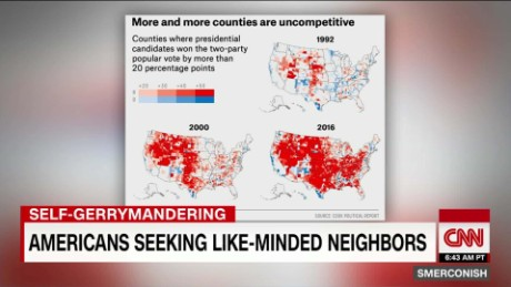 Is America self-gerrymandering?