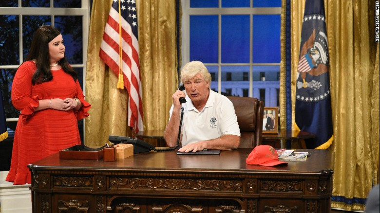 'SNL' returns with Trump mockery