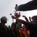 BT109 spain referendum protest 1001