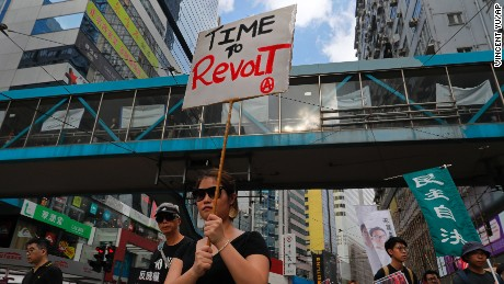 Three years after Umbrella Movement, Hong Kongers back on the streets