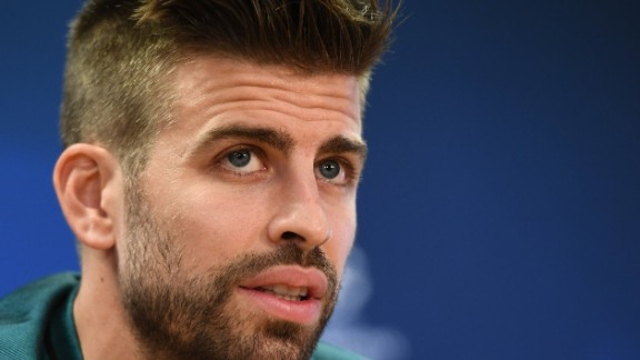 Pique has won the World Cup and the European Championship with Spain