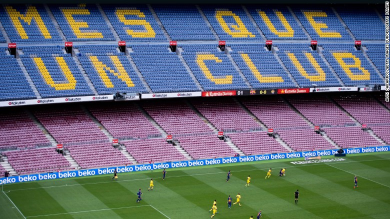 barcelona: amid violence, camp nou game 'worst of my life,' says