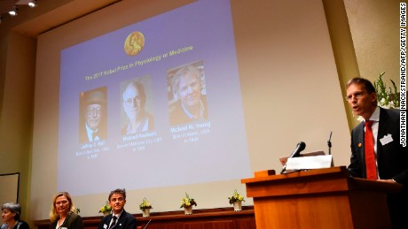US scientists awarded Nobel in medicine for body clock insights
