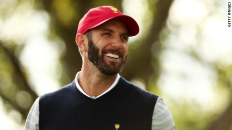 World no. 1 Dustin Johnson speaks to CNN