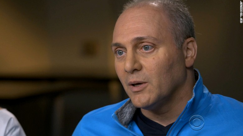 Scalise feared missing daughter's wedding