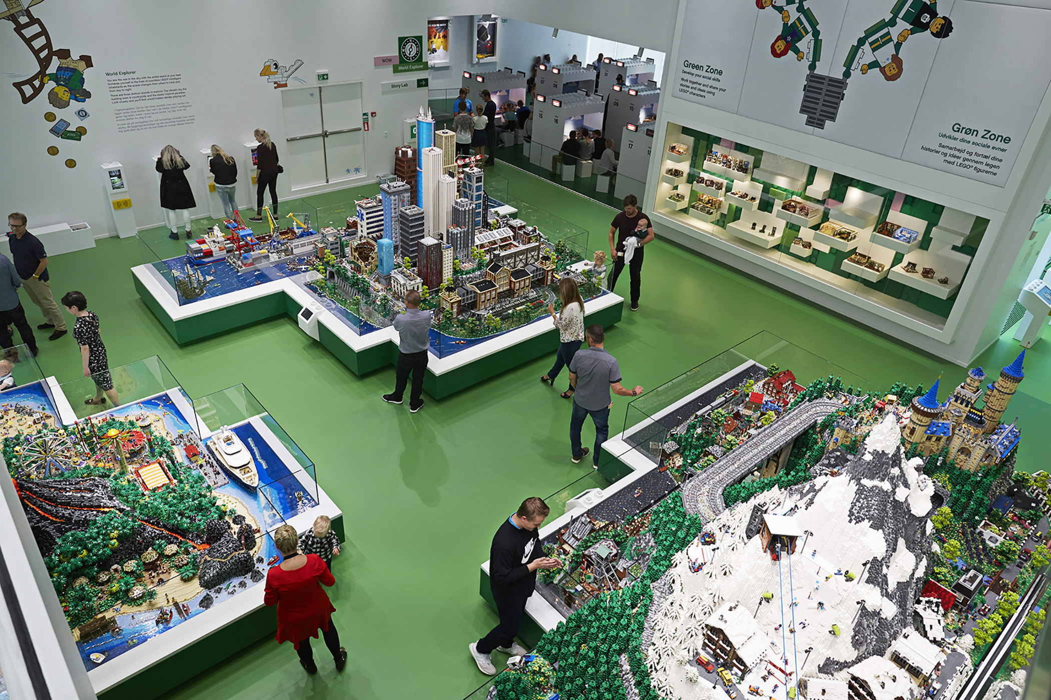 Inside Denmarks Giant Lego House Cnn Travel
