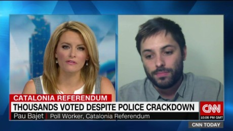 Spain cracks down on voters in Catalonia
