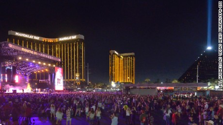 The scene at the festival on Saturday, the second night.