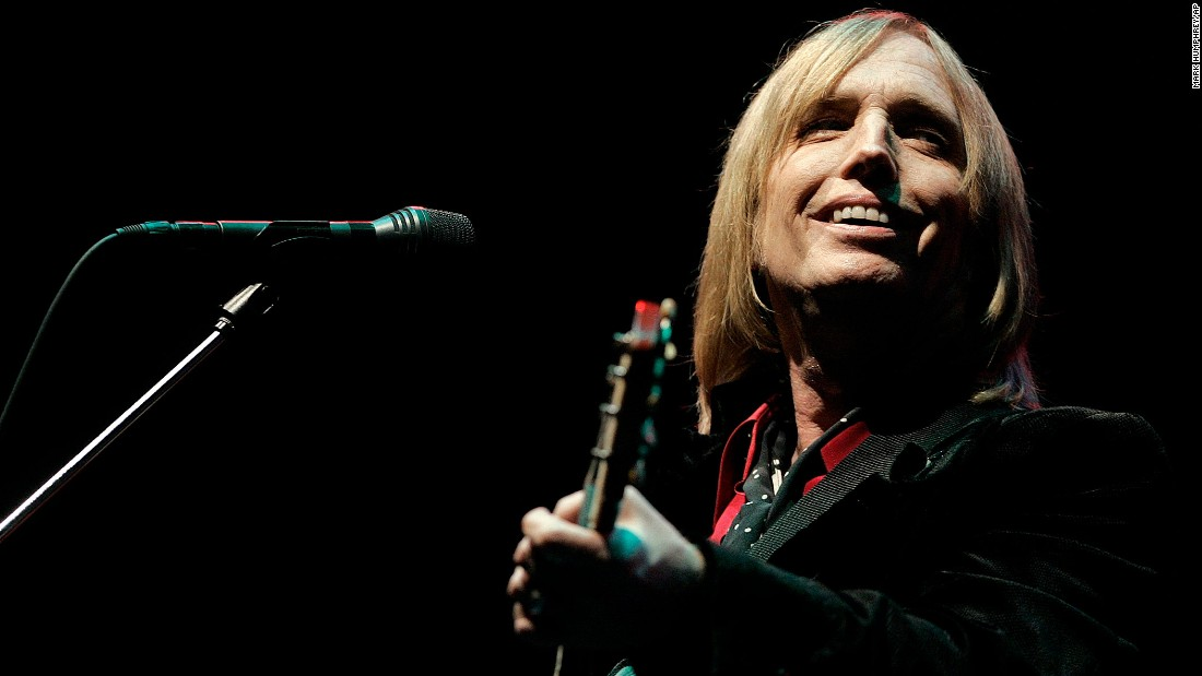 Petty performs at the Bonnaroo Music and Arts Festival in Manchester, Tennessee, in June 2006.