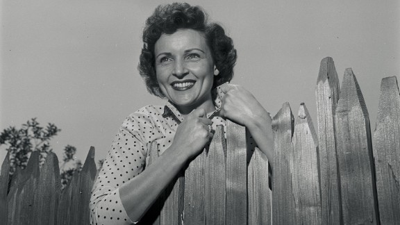 "White stars in ""Date With the Angels"" in 1957."