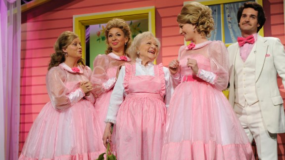 "White was a guest host on ""Saturday Night Live"" in 2010. She won an Emmy for it. At the age of 88, she was the oldest person to host the show."