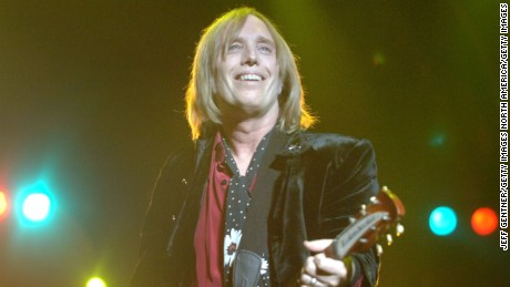 Tom Petty died October 2.