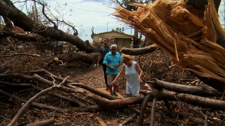 US war veteran's home destroyed in Puerto Rico