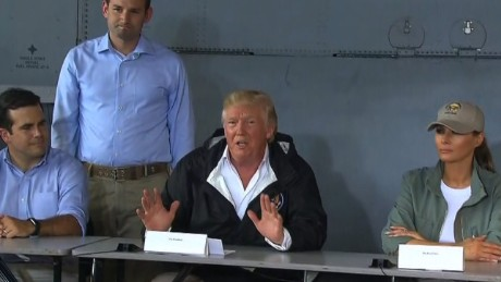 Trump in Puerto Rico: A narcissist's tour de force