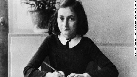 Anne Frank was sent to a concentration camp after her family was discovered by the Gestapo.