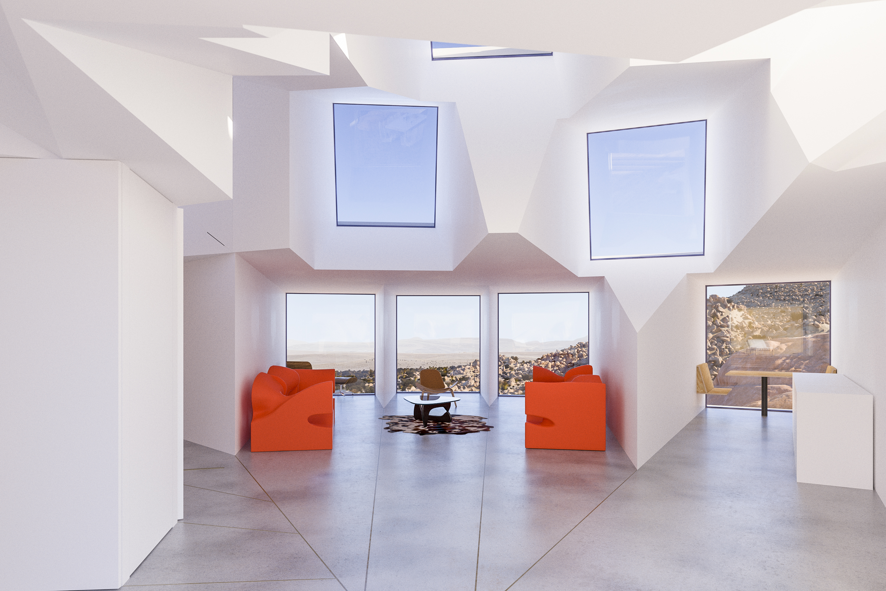Joshua Tree container home rises in the California desert - CNN Style