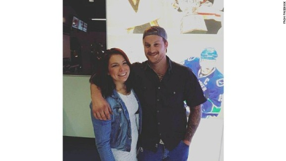 Jordan McIldoon, 25, was visiting Las Vegas from British Columbia.