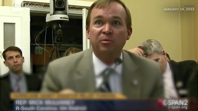 mick mulvaney budget deficit tax cuts change tune_00015509