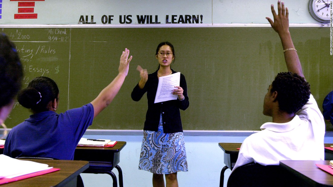 Teachers\' Day: Where teachers are paid well and valued most - CNN
