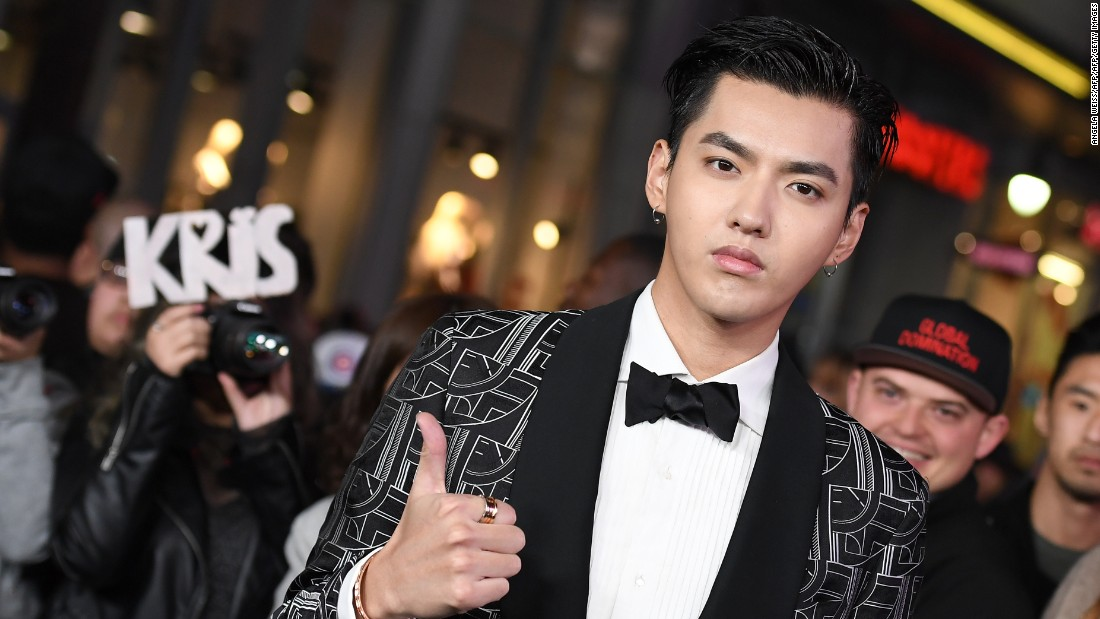 "Actor Kris Wu attends the premiere of ""xXx: Return Of Xander Cage."""