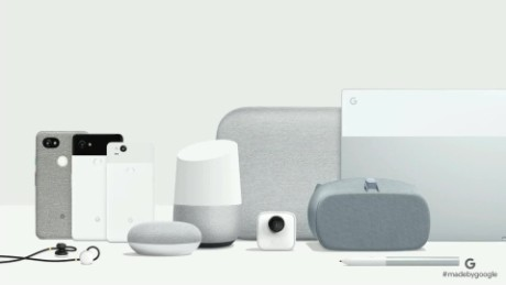 Google releases new Home products Clips camera pixelbook cnntech_00000000