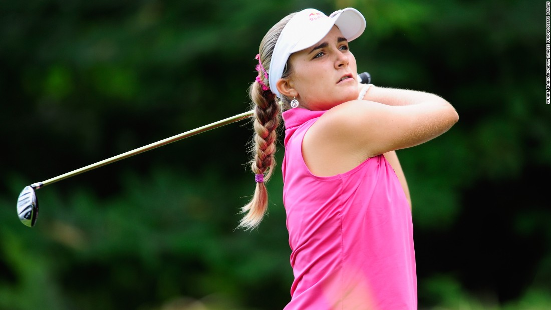 In 2010, Thompson recorded her best Tour finish, tying second at the Evian Masters and finishing just one shot behind eventual winner Jiyai Shin. Thompson received $242,711 for her efforts ... not a bad pay day for a 15-year-old!