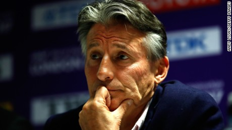 Coe was elected IAAF President in August 2015.