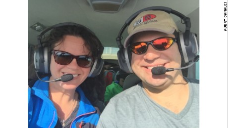 Julio and Aubry Carnales have launched their own mission to fly aid to Puerto Rico.