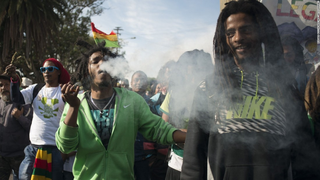 South African court OKs private use of cannabis