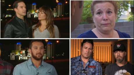 10 Las Vegas survivors and their six hours of hell