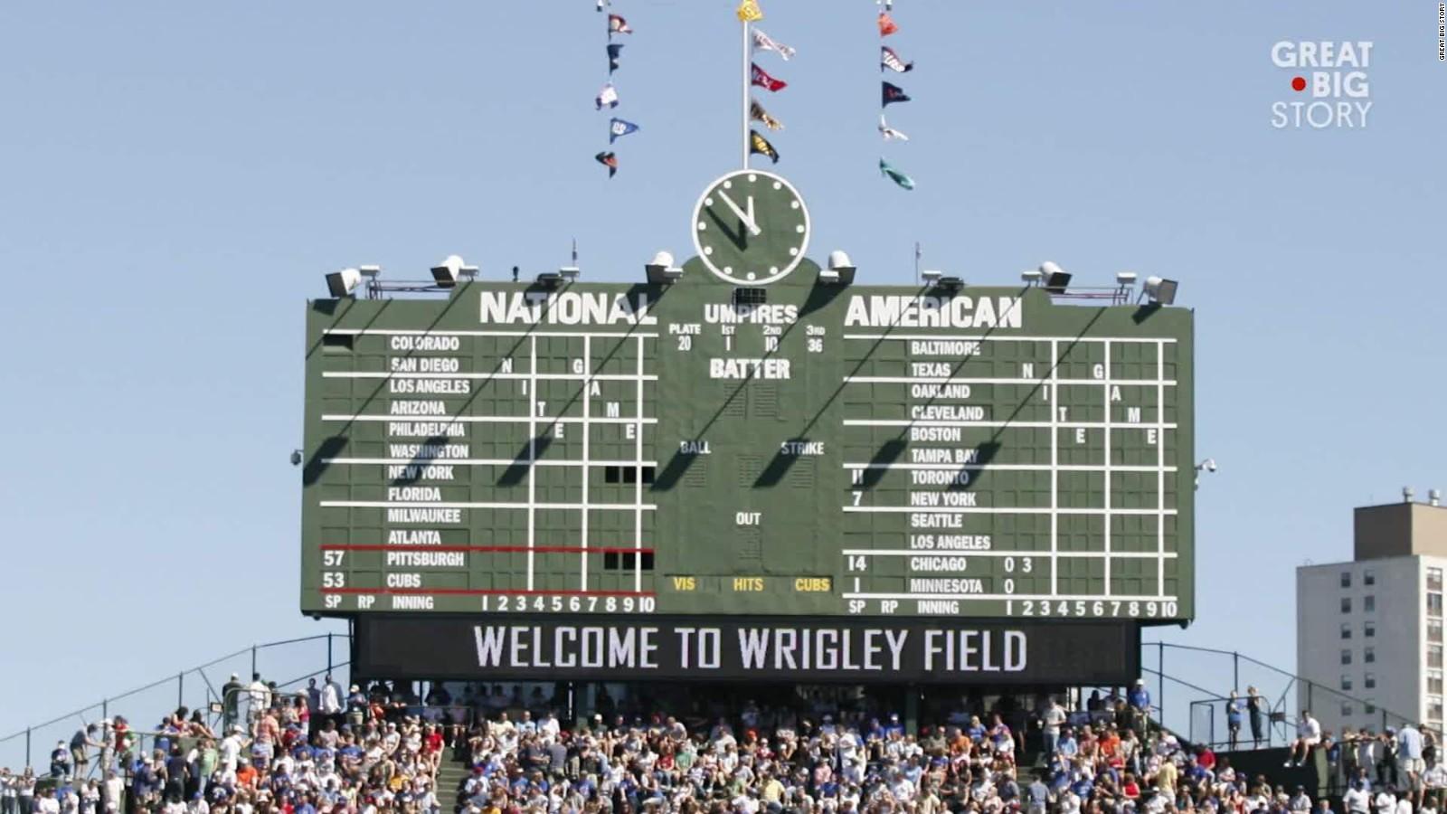 Inside Wrigley Field S Manual Scoreboard Cnn Video