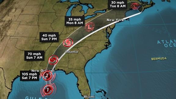 hurricane nate path 100717 12p