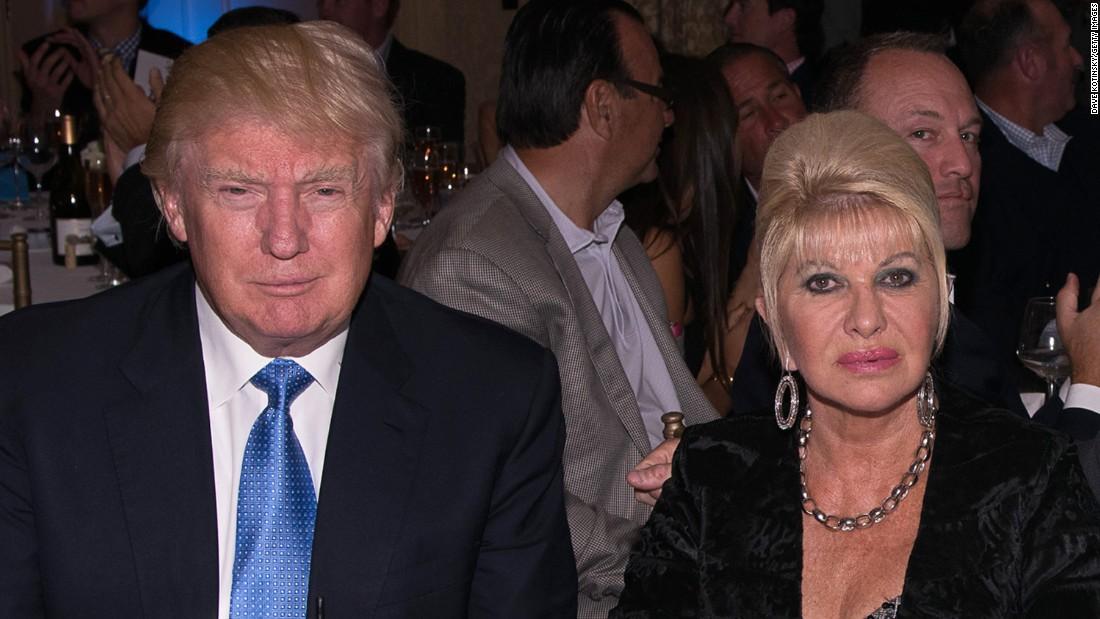 Ivana Trump: Donald shouldn't run in 2020