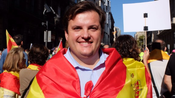 Jose Francisco Sanchez, 38, said that the October 1 independence referendum was illegal.