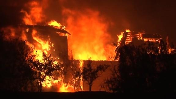 CALISTOGA FIRE in Napa