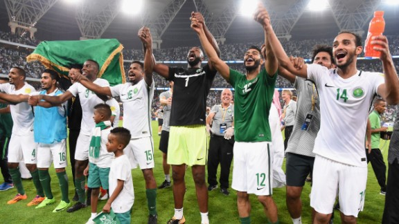 This will be Saudi Arabia's fifth appearance at a World Cup and the first since Germany 2006.