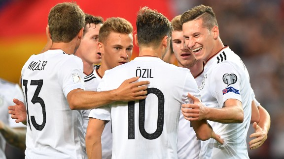 Boasting a 100% record in Group C of European qualifying, Germany could become the first team to retain the World Cup trophy since Brazil in 1962.