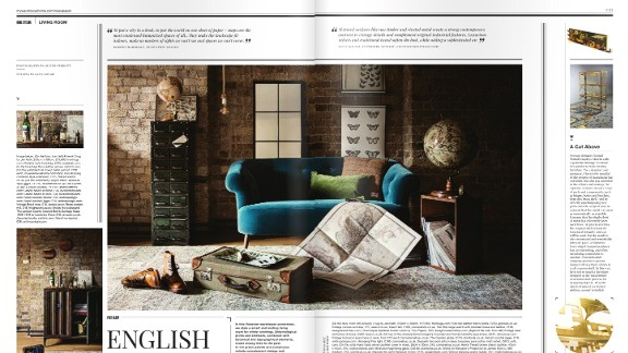 Sophie Bush founded Warehouse Home Magazine in 2014
