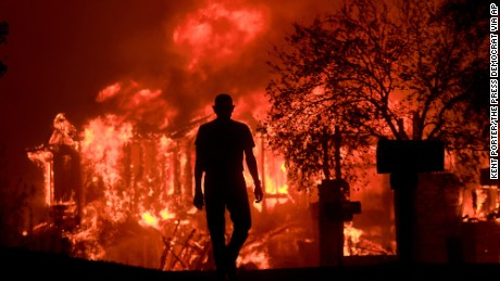 The California wildfires, by the staggering numbers