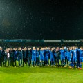 iceland players celebrate world cup qualification