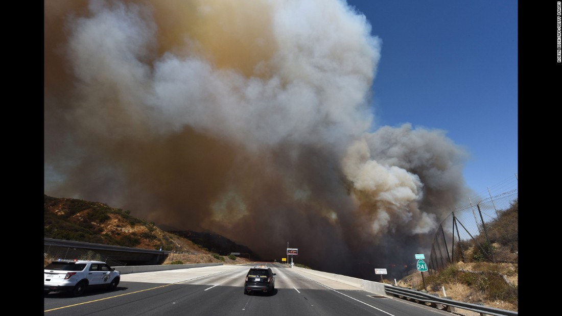 Pictures Of Fires In California >> Wildfires caused as much pollution this week as cars in California did in a year, a researcher ...