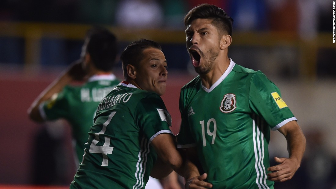 2e01edb7c1f Mexico became the first nation from Central American qualifying to reach  Russia 2018
