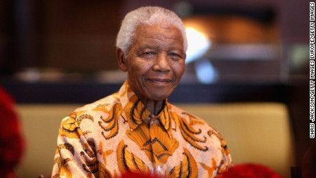 Nelson Mandela smiles during a lunch to Benefit the Mandela Children's Foundation as part of the celebrations of the opening of the new One&Only Cape Town resort on April 3, 2009 in Cape Town, South Africa. The One&Only is Sol Kerzner's first hotel in his home country since 1992. The 130 room property is One&Only's first Urban resort and sits in the fashionable Waterfront district. Celebrities from all over the world including Mariah Carey, Clint Eastwood, Matt Damon, Morgan Freeman, Thandie Newton and Marisa Tomei will attend the event.