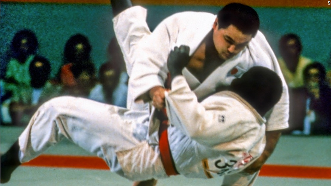 """Today, in this fragile world, Judo gives us hope to overcome the obstacles of political tension, animosity and discrimination,"" heavyweight legend <a href=""https://edition.cnn.com/2017/10/24/sport/legends-of-judo-yasuhiro-yamashita-ajjf-japan-teddy-riner/index.html"">Yamashita</a>, who retired unbeaten in 203 consecutive bouts, told CNN. ""By practicing Judo, people learn the core values of respect and above all, on the tatami there is no border nor religion. Judo is a bridge that connects the world's people, cultures and countries."""