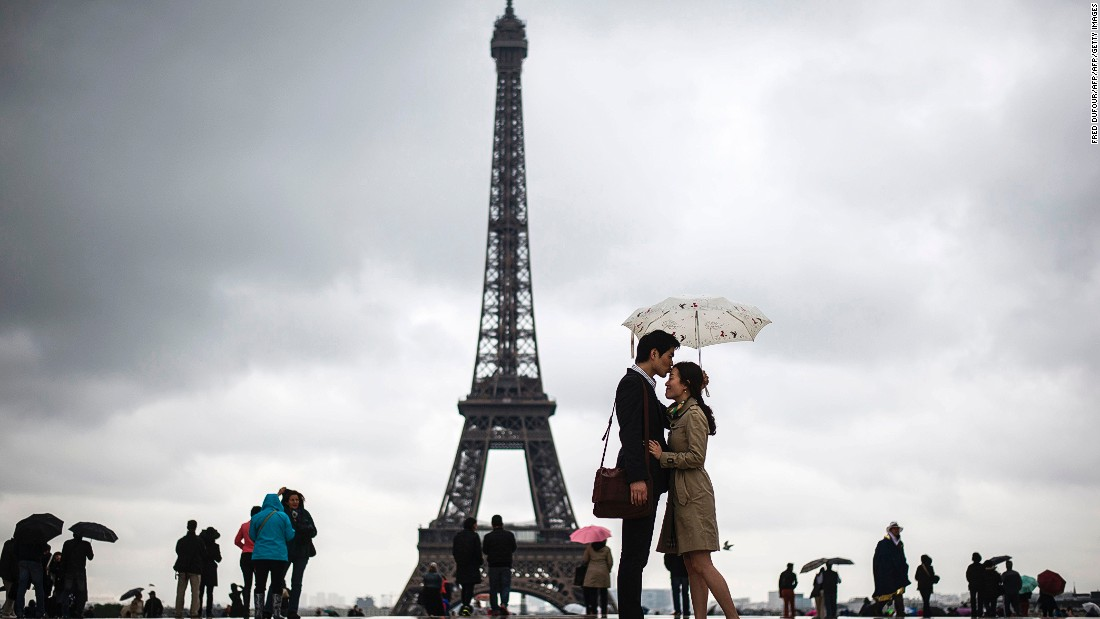<strong>7. Paris: </strong>The City of Light is still the second most visited city in Europe, but tourism is predicted to be down by 0.9% this year, which is likely to be the result of terrorist attacks.