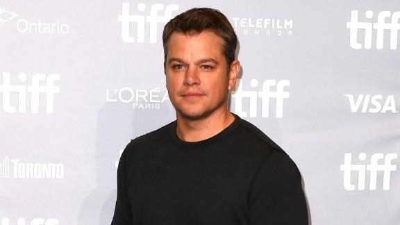 "Actor Matt Damon attends the ""Downsizing"" press conference during the 2017 Toronto International Film Festival at TIFF Bell Lightbox on September 10, 2017 in Toronto, Canada."